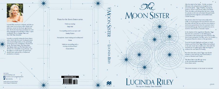 Moon Sister hardback cover